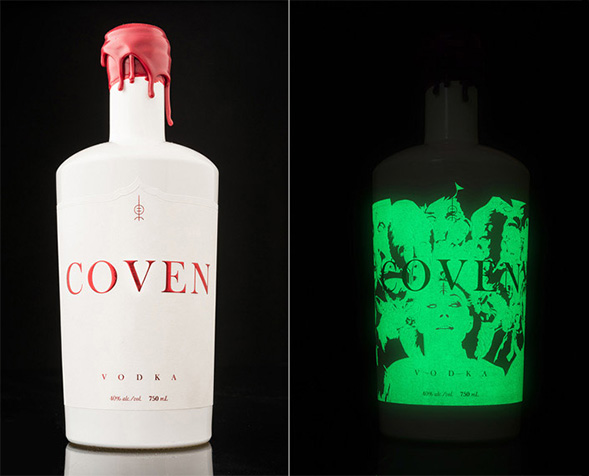 Coven Vodka by Hired Guns Creative