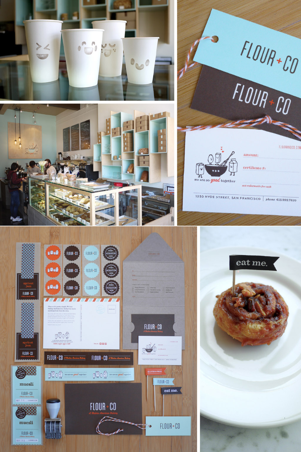 Flour + Co Identity by Rubber Design