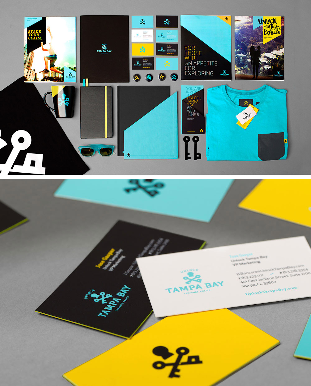 Unlock Tampa Bay Branding Campaign by SPARK